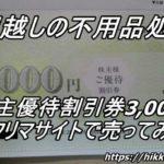 ニッポンレンタカー株主優待券