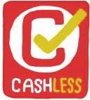 キャッシュレス還元事業のロゴマークを模したイラストです。
