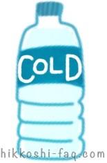 冷たい飲み物のイラストです。