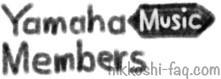 ヤマハミュージックメンバーズのロゴマークのイメージです。