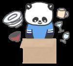 食器の荷造り